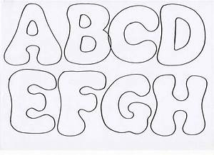 Lettres en feutrine letras fieltro riscos pinterest for Fabric letter templates