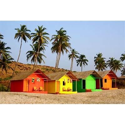 Beach Huts Mandrem GoaPhoto