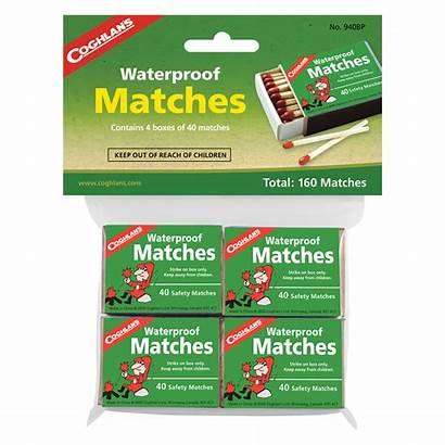 Matches Waterproof Coghlans Pkgd Vuur Pack Pieces