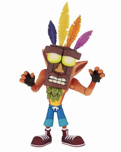 Crash Bandicoot Action Aku Mask Figure Toy