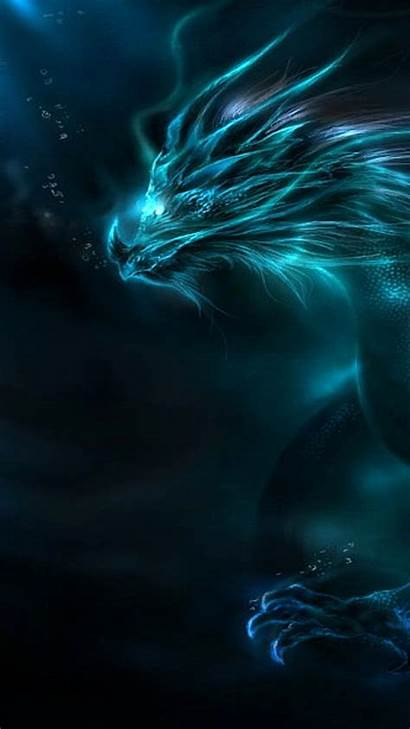 Dragon Wallpapers Neon Water Iphone Cool Background