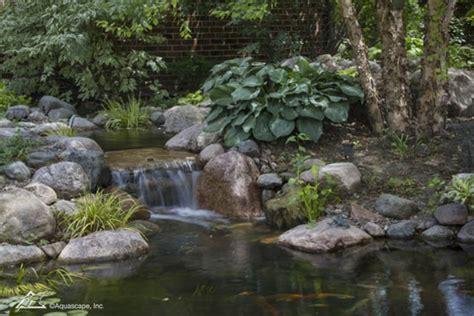 Aquascapes Inc by Springtime Pond Changes Aquascape Inc