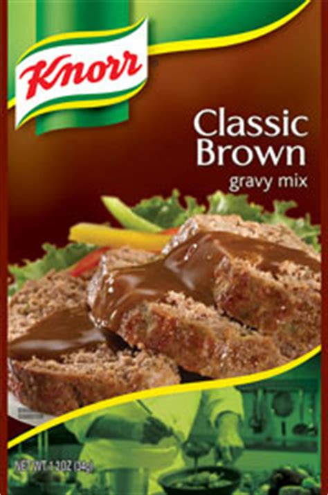 Amazon.com : Knorr Gravy Mix, Classic Brown 1.2 oz, Pack