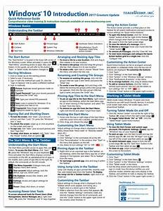 Microsoft Windows 10 Introductory Quick Reference Guide