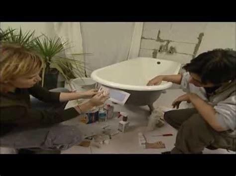 badewanne neu beschichten selber machen renovierungs heimwerk tipps emaille badewanne reparieren