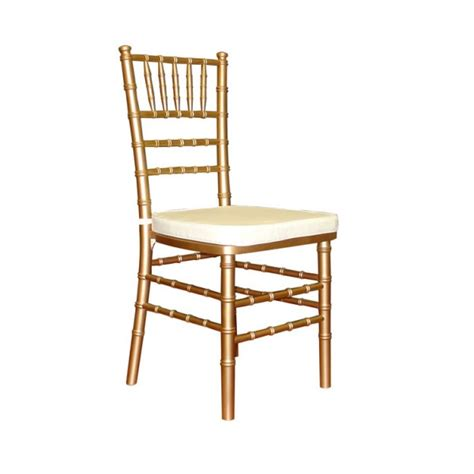 gold chiavari chair w cushion harry s rental