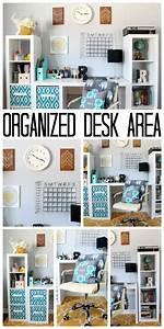 Organized, Desk, Area, For, A, Teen, Room
