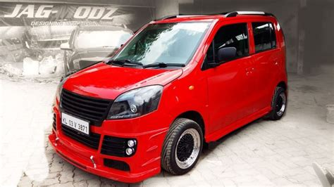 Modification Wagon R by 5 Impressively Modified Maruti Wagonrs From India