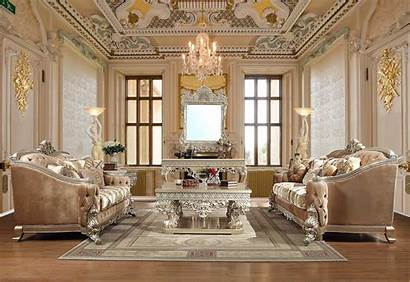 Living Sofa Traditional Furniture Luxury 820 Victorian