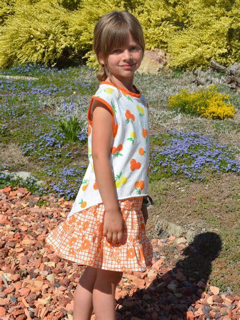 Girls Summer Skirt Tutorial 1200 X 1598 From Weallsew Weallsew