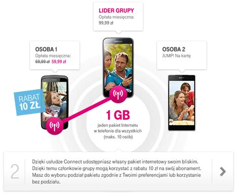 usługa connect w taryfie jump gt t mobile pl