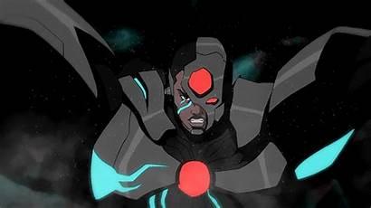 Cyborg Dc Justice Batman League Darkseid Animated