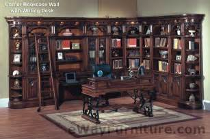package corner bookcase wall with writing desk 3 21 open bookcases 32