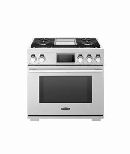 36 U0026quot  Gas Pro Range With 4 Burners And Griddle