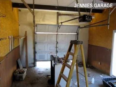 Putting A Door Into A Garage by How To Install A Garage Door Opener Time For