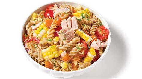 cuisiner thon salade de pâtes de maïs et de thon