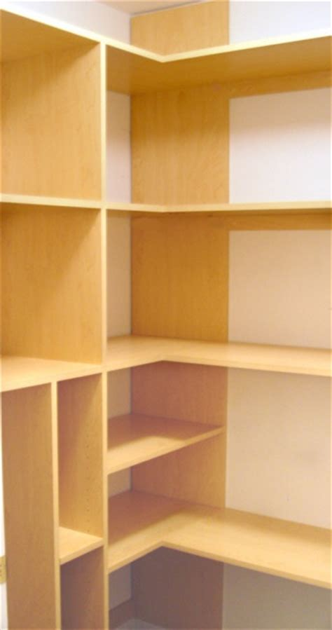 the corner shelving for playroom closet cleaning