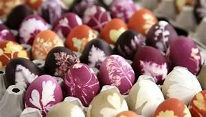 Eierfärben Mit Naturfarben : ostereier f rben mit naturfarben sch ne farben und muster ~ Yasmunasinghe.com Haus und Dekorationen