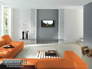 Wohnzimmer Mit Tapeten Gestalten