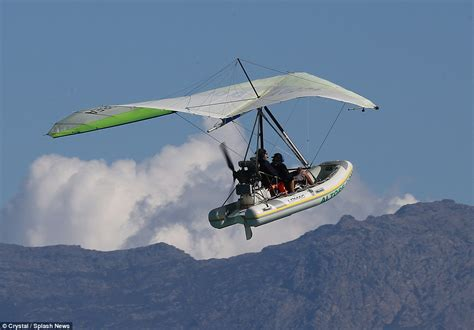 Hang Glider Boat by Holidaymakers Can Explore Corsica Coast In A Flying Boat