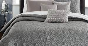 Queen Bedroom Comforter Sets by Inc International Concepts Rizzoli Gunmetal Coverlet
