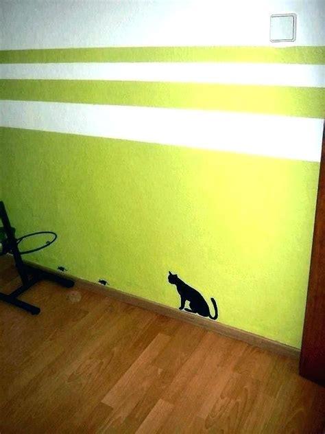 Wand Mit Streifen Gestalten by Streifen Wand Beispiele