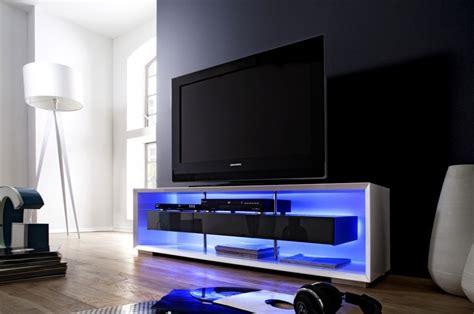 meuble tv blanc laque led id 233 es de d 233 coration et de mobilier pour la conception de la maison