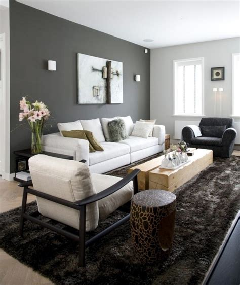 Wohnzimmer Ideen Wand Streichen Grau by Color Ideas For Living Room Gray Wall Paint Interior