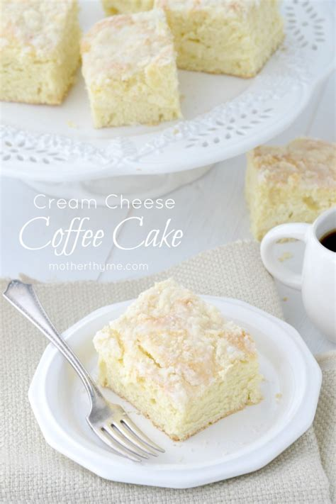 cream cheese coffee cake mother thyme