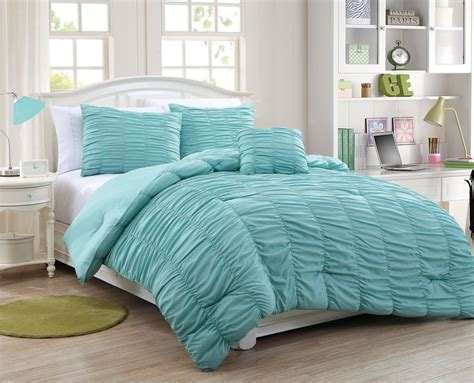 aqua quilt set tween bedding for rooms