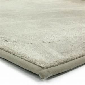 grand tapis ecru doux 160x230cm flanelle tapis salon With tapis pas cher 200x300