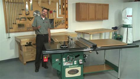 Used Grizzly Cabinet Saw 12 quot extreme series table saw comparison youtube