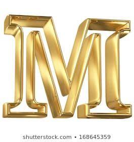 hollow noble letter   golden glossy outline alphabet glossy lettering