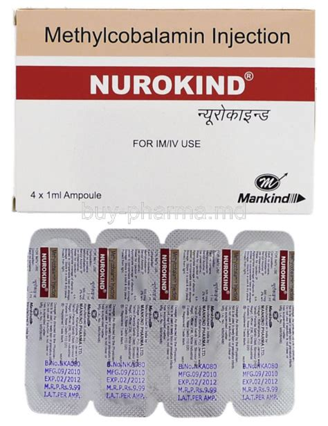 buy methylcobalamin injection crystamine crysti