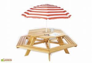Table De Jardin Enfant : table de pique nique en bois pour enfant lilli 6 places jardin pinterest tables de pique ~ Teatrodelosmanantiales.com Idées de Décoration