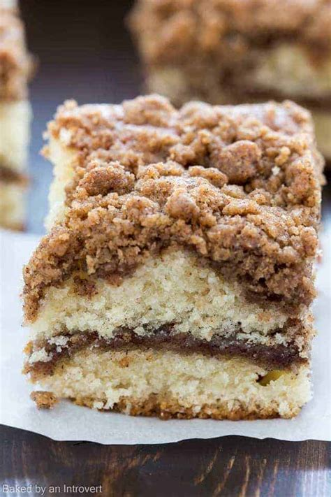 cinnamon crumb coffee cake recipe baked   introvert