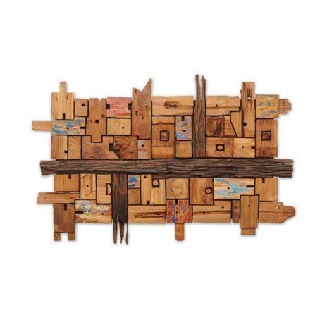 Wanddeko Wohnzimmer Holz
