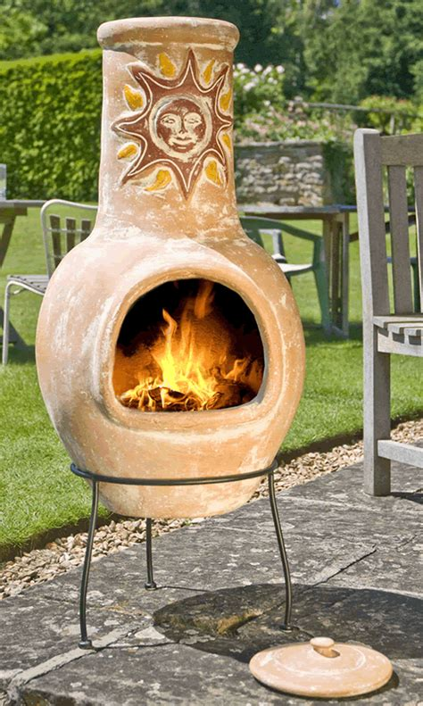 The best clay chiminea is from mexico, otherwise, you expose yourself to cheap knockoffs. clay chiminea - Google Search | Cool fire pits, Mexican clay pots, Mexican patio