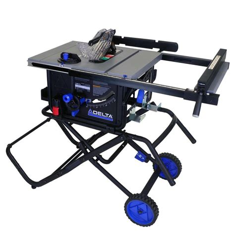 black friday table saw delta 10 quot 15 amp portable table saw w folding stand