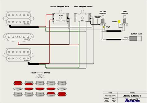 car wiring ibanez jem diagram photo 1 dimarzio evolution