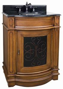 tuscan vanity toffee 29quot traditional bathroom With tuscan bathroom vanity cabinets