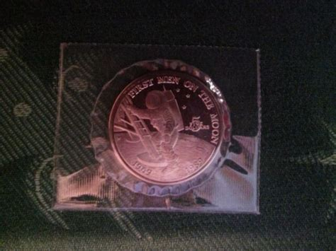 BRAND NEW Commemorative Coin First Man on the Moon 1969 ...