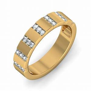 Unique Luxurious Diamond Wedding Ring Band For Her