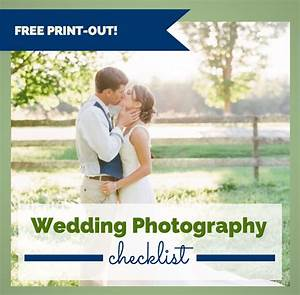 Ultimate wedding photography checklist free print out for Best wedding photography websites