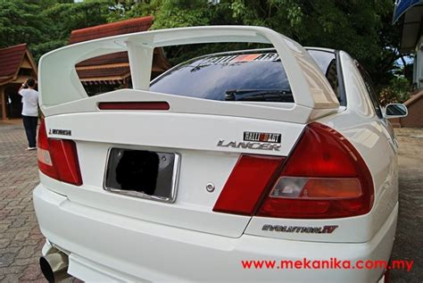 kereta mitsubishi evo mitsubishi lancer ck convert evo iv mekanika
