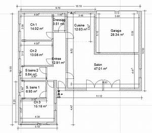 plan maison 130m2 plain pied With plan maison plain pied 80m2