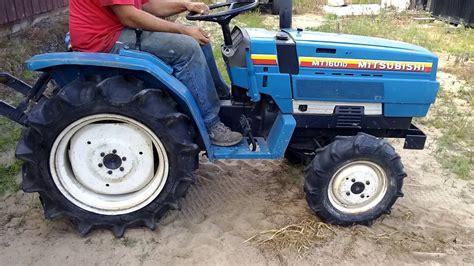 Mitsubishi Compact Tractor by Mitsubishi Mt 1601d Compact Utility Tractor