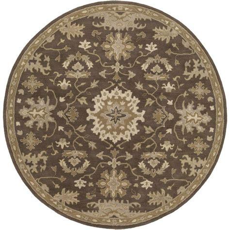 8 foot area rugs artistic weavers gilgamesh chocolate 8 ft x 8 ft