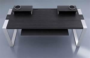 Bureau En Bne Et Aluminium Pour Home Studio Et MAO