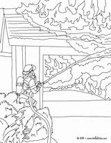 Fire Drawing Hydrants Hydrant Coloring Printable Pages Getdrawings sketch template